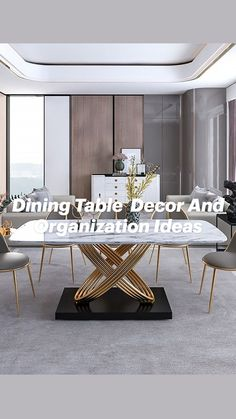 Home Room Design, Dining Room Design, Drawing Room Furniture, Art Deco Living Room, Living Room Partition Design, Luxury Dining Room, Apartment Interior Design, Home Decor Furniture, Dining Table