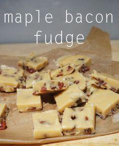 meg-made: Maple Bacon Fudge
