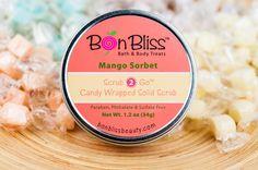 Mango Sorbet, our BEST seller!