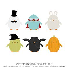 Vector Birdies In Disguise {CU}