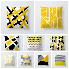 """Universe of goods - Buy """"Simple Geometric line style polyester peach skin throw pillow covers Soft fabric,simple & brief home decorative pillowcase for only USD. Cheap Decorative Pillows, Decorative Pillow Cases, Geometric Pillow, Geometric Lines, Geometric Fabric, Throw Pillow Covers, Throw Pillows, Rustic Wall Clocks, Black And White Pillows"""