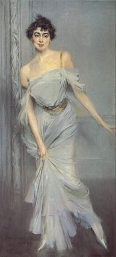 Madame Charles Max (1896 ) This is a favourite of mine and although I have quite a few works by Boldini on this board I don't have this one. I would so love to see the original work rather than images of the work. S
