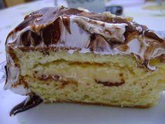 Uma deliciosa receita para o seu fim de semanaPara o bolo: Ingredientes Para o bolo: 5 ovos 1 xícara (chá) de açúcar 5 colheres (sopa) cheias de farinha de trigo Para a calda de