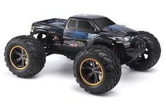 All Terrain Radio Controlled Monster Truck RC Car by Hosim