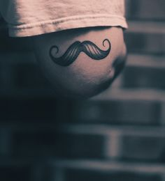 Love it or hate it... #stache #moustache tattoo