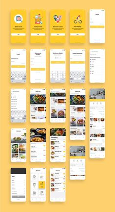 Food App UI Kit Bundle — UI Place You are in the right place about App Design flat Here we offer you the most beautiful pictures about the mobile App Design you are looking for. When you examine the F Flat Web Design, Interface Design, Interaktives Design, Android App Design, App Ui Design, Design Layouts, Dashboard Design, Interface Android, Android Ui