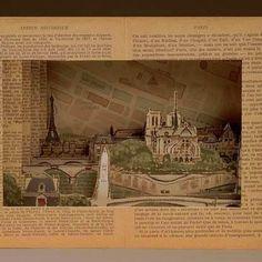 Paris Tunnel Book - by Laura Davidson