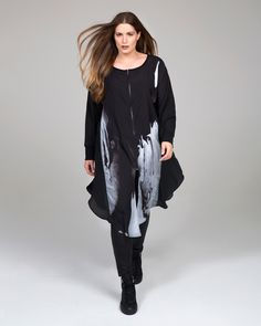 """""""Urban Chic"""" trend • mat. F/W 2016-17 collection Urban Chic, Spring Summer 2015, Fall Winter, Autumn, Plus Size Fashion, Bomber Jacket, Jackets, Collection, Fashion Styles"""