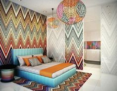 Chevron kings! Missoni