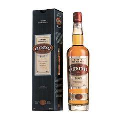 Whisky Eddu Silver | Le seul whisky au monde fabriqué à partir de blé noir ! Fabriqué dans le Finistère, il vous séduira grâce à ses ses harmoniques boisées charnelles et veloutées.   Bouteille de 70 cl. 40% vol.  Vieilli cinq ans en fûts de chêne de France | A découvrir sur : http://www.chasse-maree.com/alcool/5159-whisky-eddu-silver.html