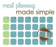 How to Meal Plan: Meal Planning Made Simple