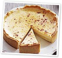 Custard tart Real Food Recipes, Great Recipes, Custard Tart, Pie Plate, Cakes And More, Baked Goods, Delicious Desserts, Sweet Tooth, Deserts