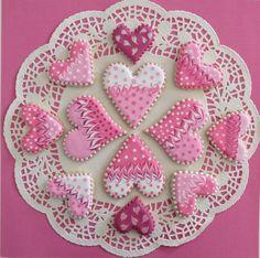 feb 2 2021 004-01 Valentine Cookies, Valentines, Cookie Decorating, Decorating Ideas, Make It Yourself, Cake, Desserts, Valentine's Day Diy, Tailgate Desserts
