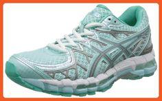 ASICS Women's Gel-Kayano 20 Lite Show Running Shoe,Glacier/Lite/Mint,12 M US - Athletic shoes for women (*Amazon Partner-Link)