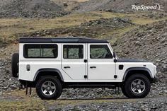 Land Rover Defender... Sexiest truck ever