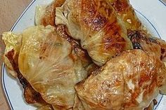 Granny's cabbage rolls 5 - Essen und Trinken - Welcome food web Quick Hamburger, Hamburger Meat Recipes, Beef Recipes, Healthy Eating Tips, Clean Eating, A Food, Food And Drink, Drink Bar, Chef Food