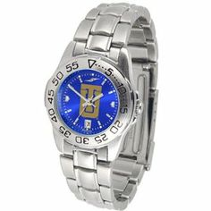 NCAA Tulsa Golden Hurricane Ladies Game Day Sport Metal AnoChrome Watch by Football Fanatics. $66.95. Team color dial. Stainless steel rotating bezel. Stainless steel band with removable links. Date indicator. Team logo on face. Tulsa Golden Hurricane Ladies Game Day Sport Metal AnoChrome WatchDate indicatorStainless steel band with removable linksReady to wrapTeam color dialScratch resistant crystalTeam logo on facePre-packaged caseOfficially licensed collegiate product...