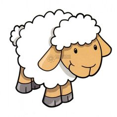 Photo about Cute Sheep Lamb Vector Illustration. Illustration of animal, wool, clip - 9205504
