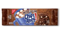 Chips Ahoy has jumped on the cocoa-train to offer up its first-ever hot cocoa-flavored cookie