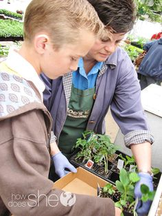 """Gardening with My Little Green Thumb!"" Some great ways to involve and help your children learn to love gardening."