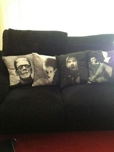 Old Horror Cushions... MUST!