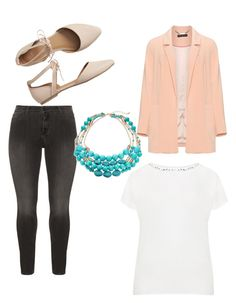 """""""Untitled #66"""" by emilyenders on Polyvore featuring Manon Baptiste, NYDJ, Samoon and Gap"""