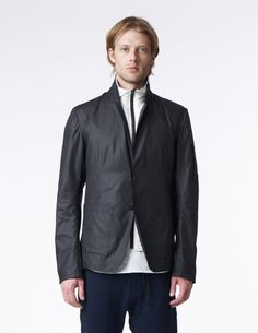 2.5-Layer Tech Blazer w/ Removable Pertex® Insulated Vest (w/ Ivory Liner)