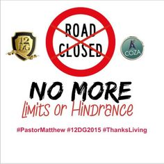 #PastorMatthew #NewThings #NoMoreLimits #Day7 #12DG2015 #ThanksLiving