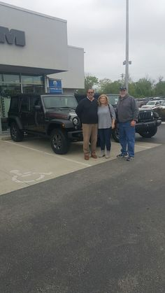 The Korengels knew EXACTLY how they wanted their new Jeep Wrangler Rubicon Recon edition. Sales consultant Gabe Wassem helped get their special order rolling and look at all of these happy faces! Thank you for your business and enjoy your very nice Jeep on the trails! Www.zimmermotors.com #salesconsultant