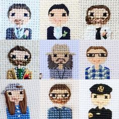 71 Likes, 1 Comments - Cross Stitch Portraits (@familystitch) on Instagram: """"