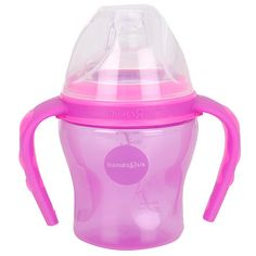 """Babies R Us Purely Simple Training Cup with Handles - Purple - Babies R Us - Toys """"R"""" Us"""