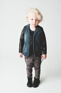 How cute this little hipster! Tons of attitude! Aven - new boys' line!