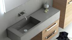 Beautiful furniture made of #concrete: Waschbecken aus #Beton