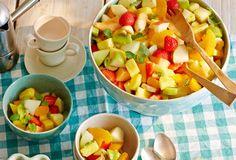 Macedonia di frutta (Obstsalat) Rezept - [ESSEN UND TRINKEN]