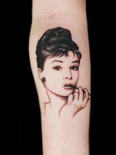 My Audrey Hepburn Tattoo <3