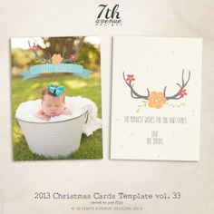2013 Christmas Card by 7thavenuedesigns
