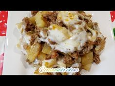 Ground Beef Recipes, Lasagna, Mashed Potatoes, Waffles, Food Porn, Cooking Recipes, Breakfast, Ethnic Recipes, Gastronomia