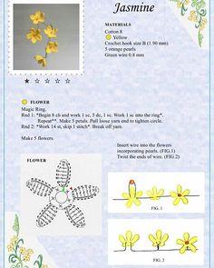 Мобильный LiveInternet Альбом «The Book of Crochet Flowers Appliques Au Crochet, Crochet Motifs, Crochet Flower Patterns, Crochet Diagram, Crochet Flowers, Fabric Flowers, Crochet Stitches, Crochet Books, Crochet Art
