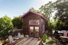 Bright & Airy Backyard Loft in Austin.  #TinyHouseforUs