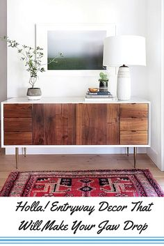 Entryways are taken for granted way too often! Let's give them some love by adopting these simple entryway decor ideas!