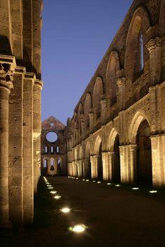 The Abbey of San Galgano, Province of Siena, Tuscany- Italy