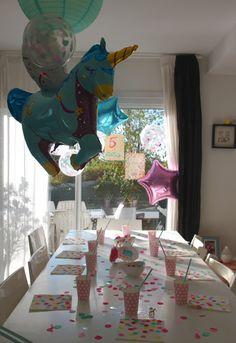 anniversaire licorne, goûte de fête d'anniversaire, unicorn party