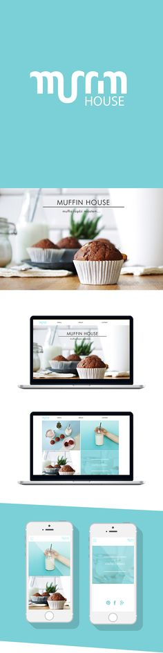 muffin house's identity by Paulina Derecka - Paprotnik Studio via Behance