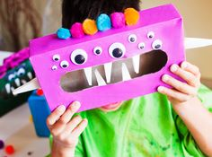 Ease Back-to-School Jitters: DIY Worry Monsters via @howdoesshe