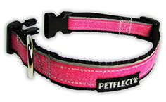 Petflect Glitter Reflective Collar Pink Medium * Check out the image by visiting the link.