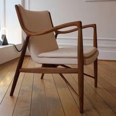 sillón de diseño de Finn Juhl (escandinavo) 45 ONE COLLECTION