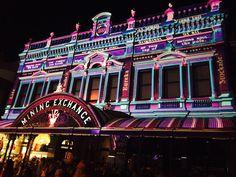 The Mining Exchange Lydiard St - White Night Ballarat 2017
