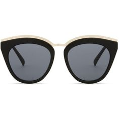 Le Specs Eye slay cat-eye sunglasses (181.715 COP) ❤ liked on Polyvore featuring accessories, eyewear, sunglasses, glasses, glasses/sunglasses, naocale, cat eye glasses, cat eye sunnies, le specs sunglasses and cateye sunglasses