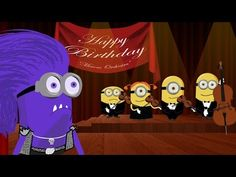 ▶ Minions Happy Birthday Song ~ Crazy Funny War Edition [HD] - YouTube