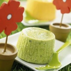 Zucchini flan with mint - Today Pin Baby Food Recipes, Beef Recipes, Snack Recipes, Dessert Recipes, Desserts, Food N, Food And Drink, Good Food, Yummy Food